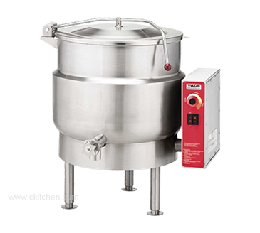 Vulcan 20-gal Stationary Kettle, Electric