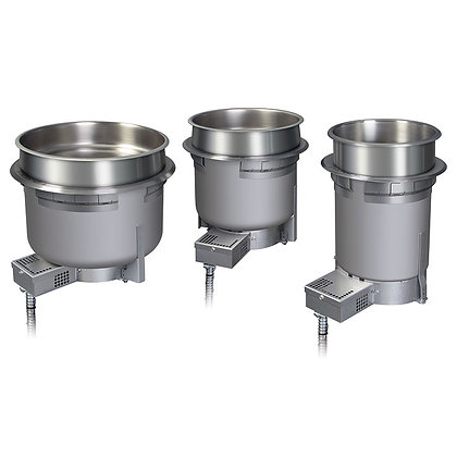 Hatco Round Heated Drop-in Well