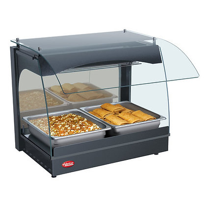 Hatco Glo-Ray Curved Food Warmer Display