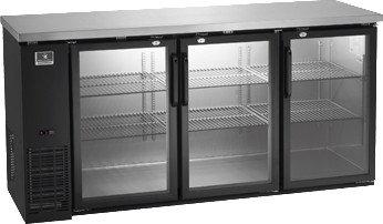 "Kelvinator 72"" Back Bar Glass Door"