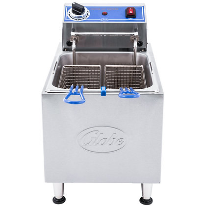 Globe 16 lbs. Electric Countertop Fryer
