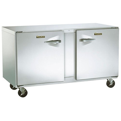"Traulsen 60"" 2-Door undercounter Freezer"