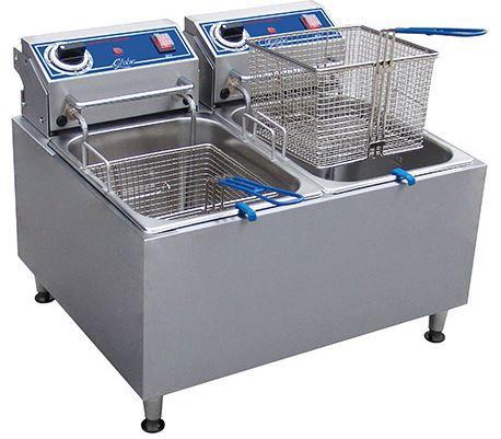 Globe 32 lbs. Electric Countertop Fryer
