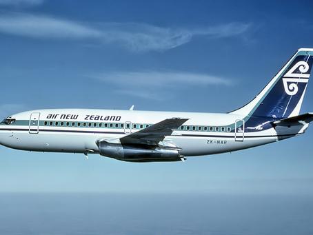 2020年紐西蘭航空公司虧損4.54億紐幣