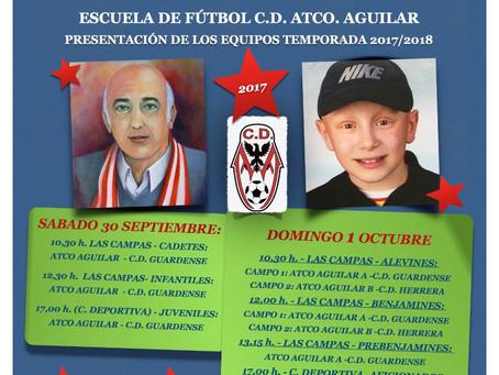 Torneo presentación equipos Atlético Aguilar.