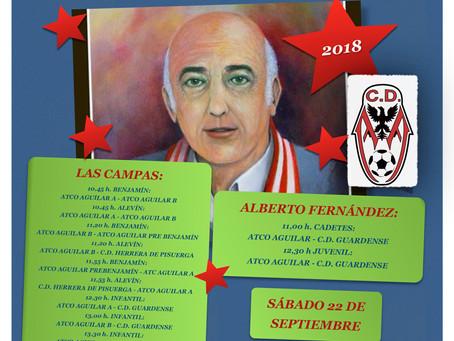 Torneo presentación equipos Atlético Aguilar 2018/2019.