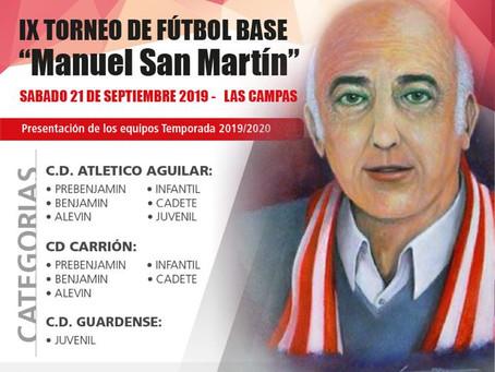IX Torneo de fútbol base Manuel San Martín.