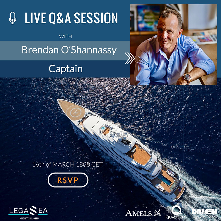 Live Session with Brendan O'Shannassy