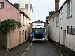 Mayflower Caravan Transport, Devon, offers services such as Access Checks