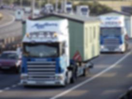 Mayflower transport, caravan transport, mobile home transport, mayflower caravan transport