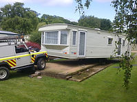 Mayflower transport, caravan transport, mobile home transport, mayflower caravan transport, caravan siting, siting, desiting, caravan desiting