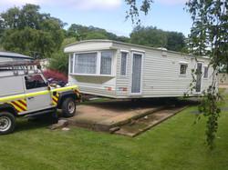 Mayflower Caravan Transport: Siting