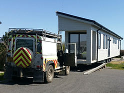 Mayflower Caravan Transport, Devon, offers services such as Mobile Home and Caravan Siting