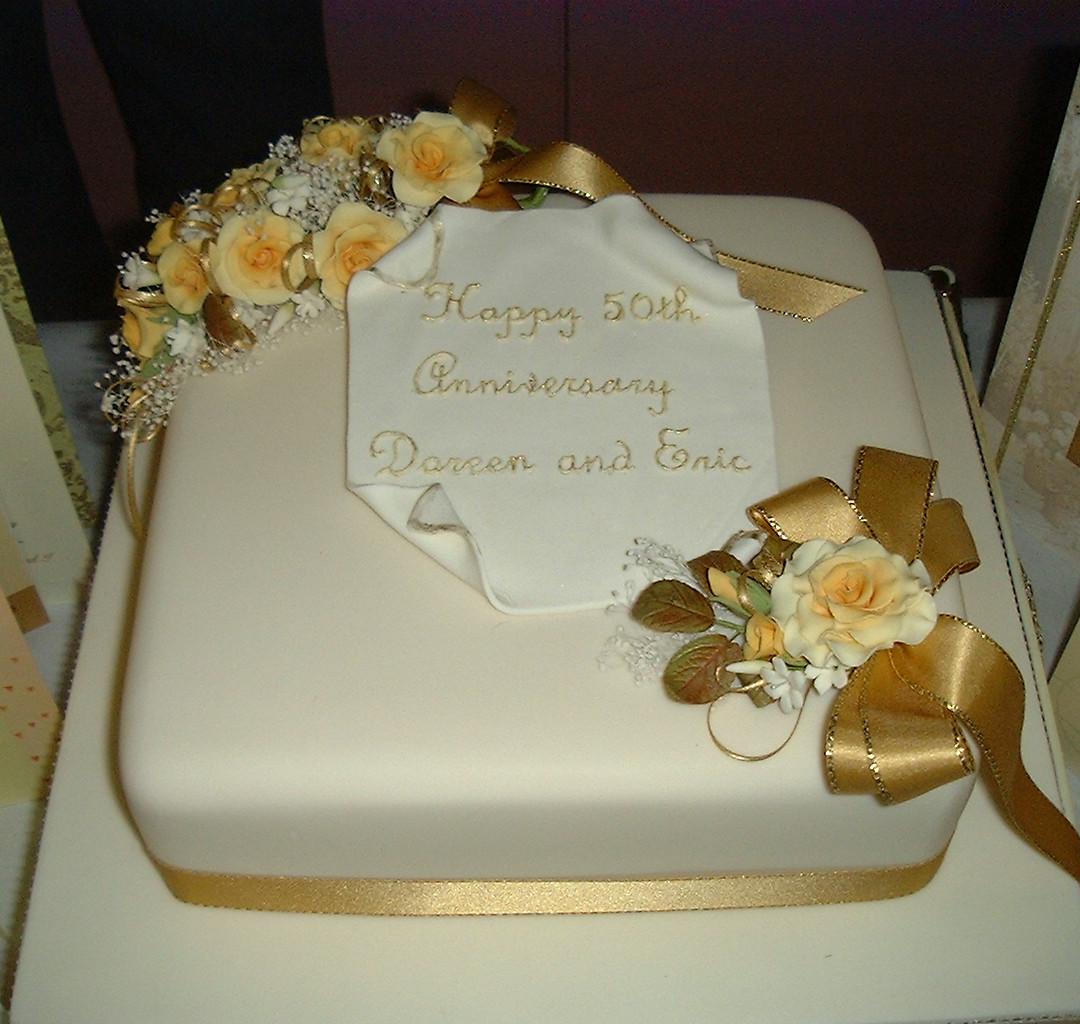 Anniverary cakes