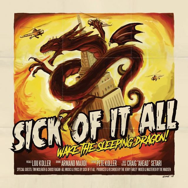 7cdd8d1ac3eb `Wake The Sleeping Dragon!  is the latest from Sick Of It All