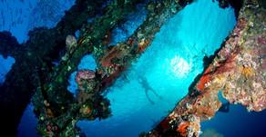 USAT Liberty Ship Wreck in Tulamben