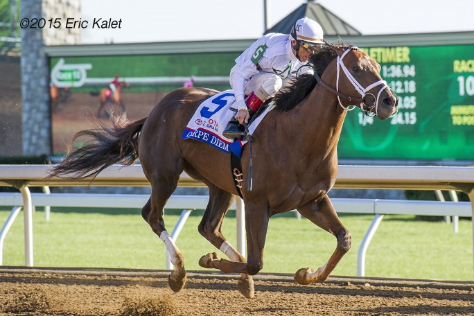 Carpe Diem 2015 G1 Bluegrass Stakes