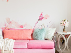 Interior Design Trend: Large Floral Prints & How to Use Them