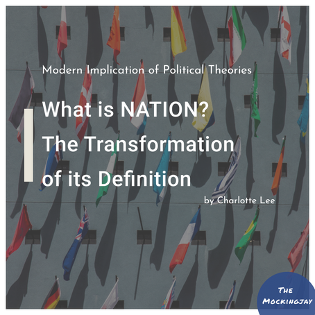 What Is Nation? The transformation of its definition