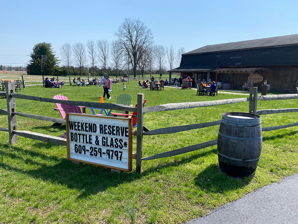 Cream Ridge Winery Pop Up Wine Tasting Market