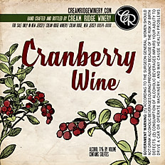 Cranberry Wine (SOLD OUT TILL MID DECEMBER)