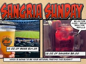 Sangria Sunday August 1st