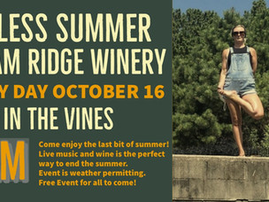 Yoga in the Vines! Oct 16th
