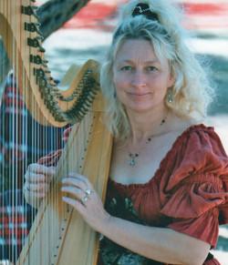 Angel on Harp