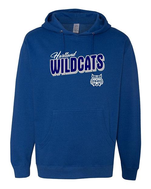 Hartland Wildcats Gildan Heavy Blend Hooded Sweatshirt - 18500