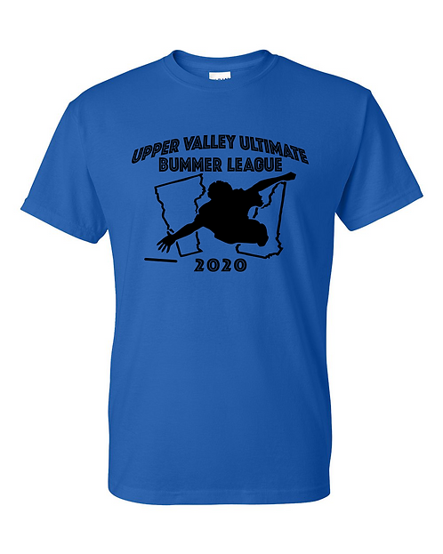 2020 Upper Valley Ultimate Shirts (5 Color Options)