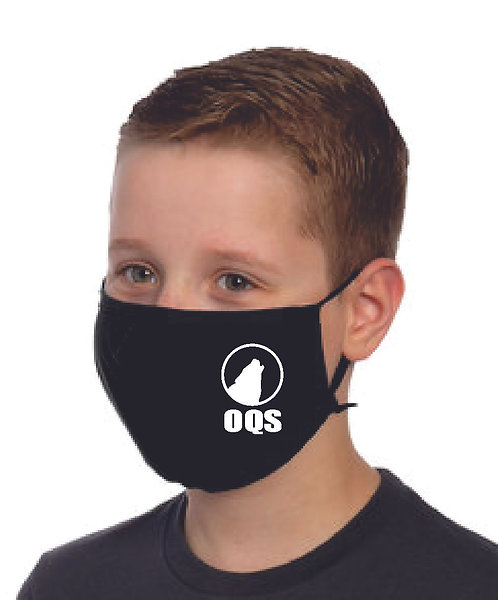 2 Pack - OQS Youth Face Mask
