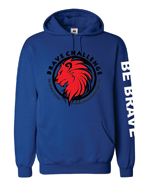 Brave Adult Hooded Sweatshirt 1254