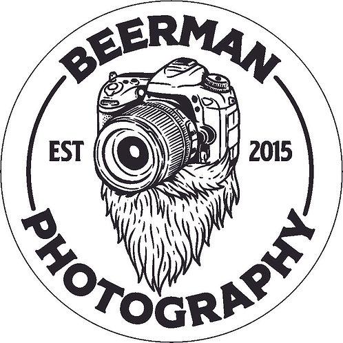 Beerman Photography  Sticker