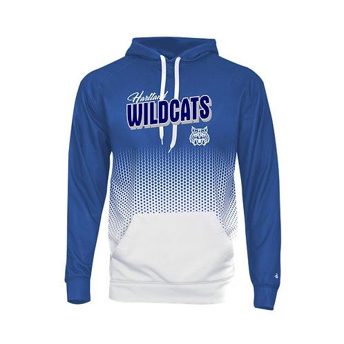 Hartland Wildcats Badger Hex 2.0 Hooded Sweatshirt - 1404
