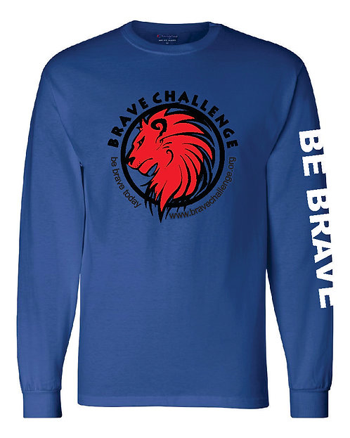 Brave BELLA + CANVAS Youth Jersey Long Sleeve Tee - 3501Y
