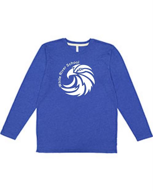 WRS Hawks LAT - Youth Fine Jersey Long Sleeve Tee - 6201