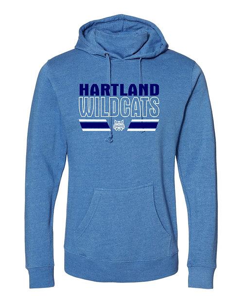 Hartland J. America - Gaiter Fleece Hooded Sweatshirt