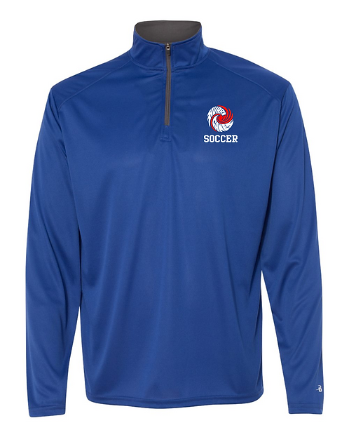 HHS Soccer Badger - B-Core Quarter-Zip Pullover - 4102