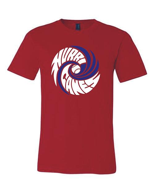 Hartford Baseball Unisex Jersey Short Sleeve V-Neck Tee