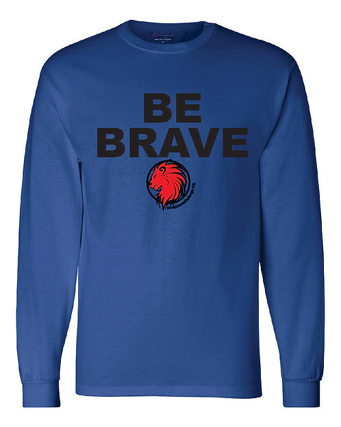 Be Brave BELLA + CANVAS Youth Jersey Long Sleeve Tee - 3501Y