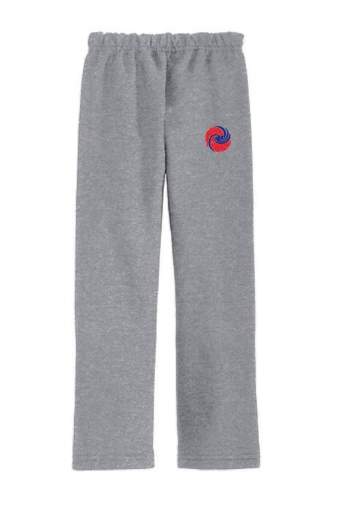 JERZEES - NuBlend Open Bottom Sweatpants with Pockets 974MP