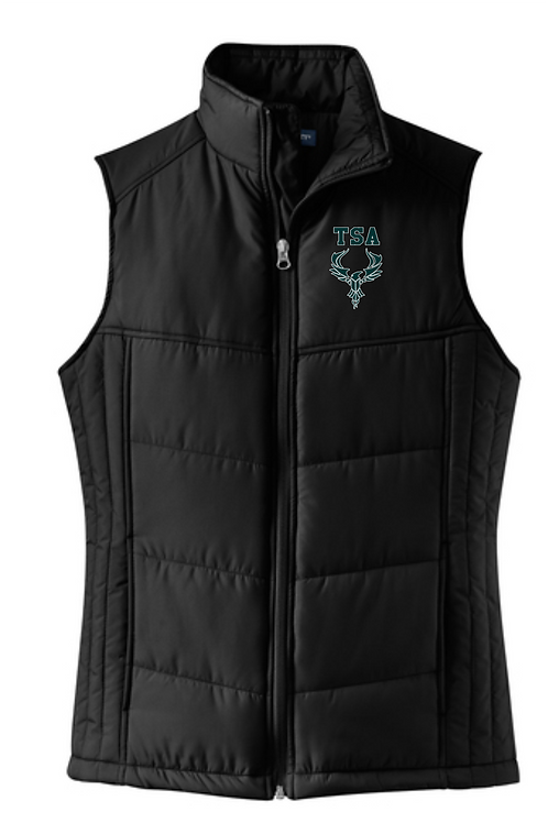 PORT AUTHORITY WOMENS PUFFY VEST