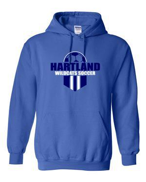 Gildan Youth Heavy Blend Hooded Sweatshirt 18500B
