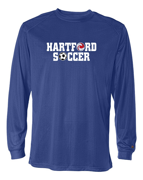HHS Soccer Badger B-Core Long Sleeve T-Shirt - 4104