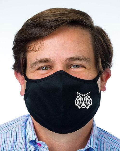 Hartland Wildcats Badger B-Core 3-Ply Mask
