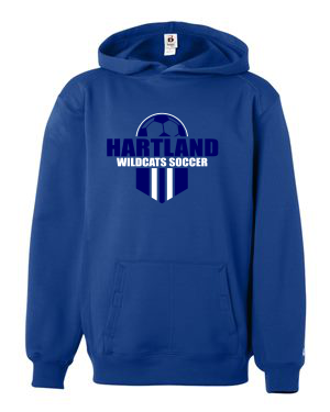 Badger Performance Fleece Hooded Sweatshirt - 1454