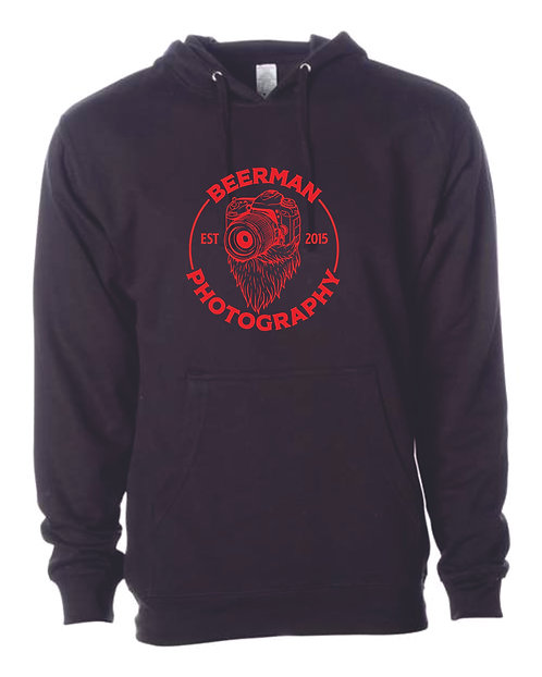Beerman Photography Independent Trading Co. - Midweight Hooded Sweatshir