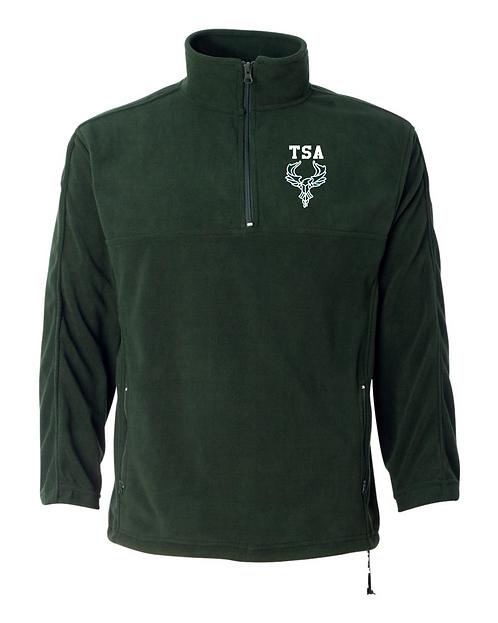 TSA FeatherLite - Unisex Microfleece Quarter-Zip Pullover