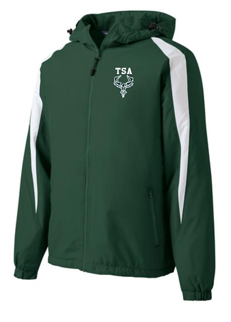 TSA Sport-Tek® Fleece-Lined Colorblock Jacket