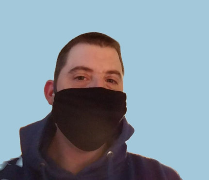 5 Face Masks w/ No Seam